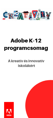 K-12 Iskolai licence Adobe CC for Teams