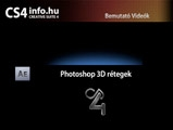 Adobe CS4 videosorozat - After Effects - Photoshop 3d rétegek